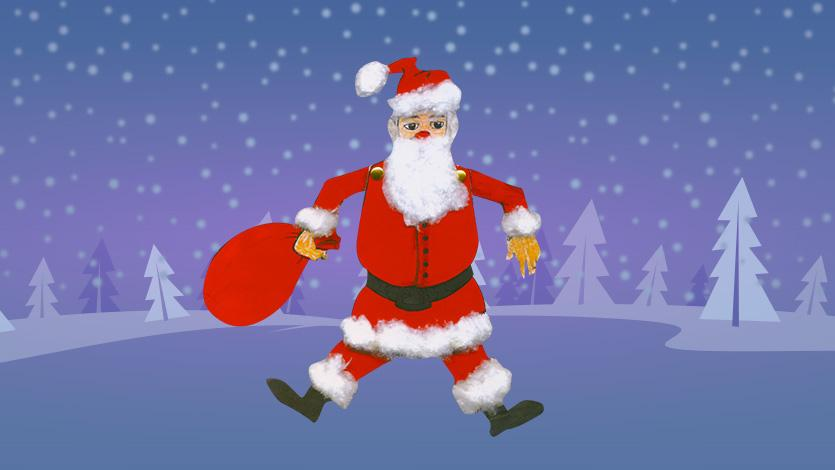 Άγιος Βασίλης Μαριονέτα