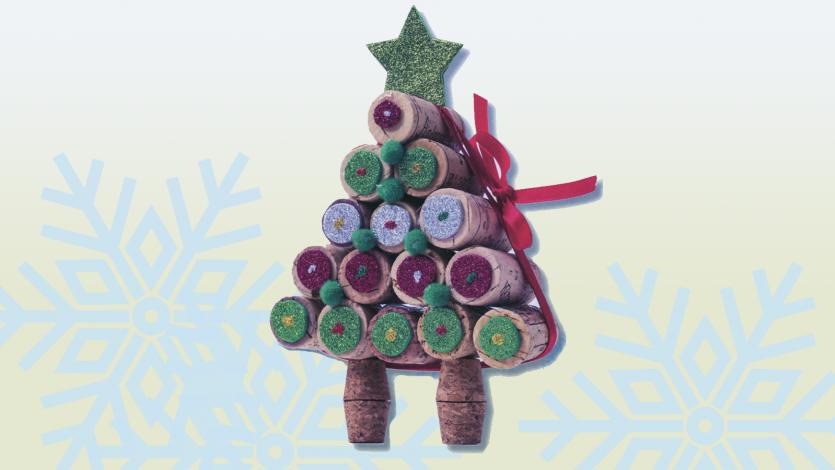 Δέντρο από φελλούς κρασιού