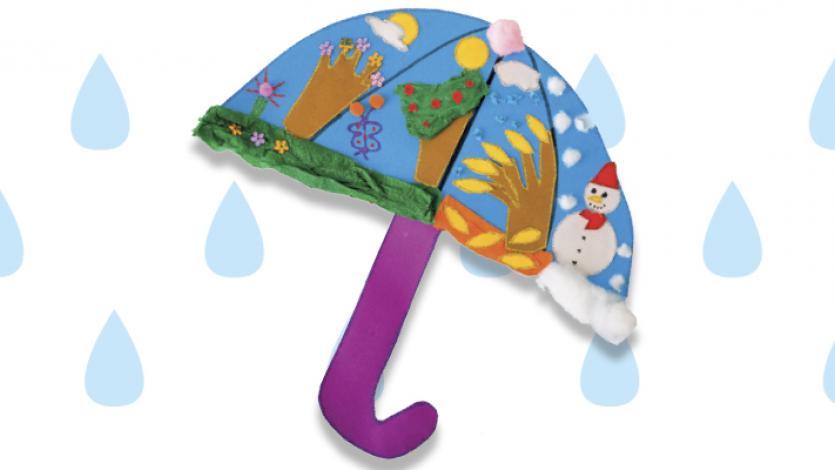 Η ομπρέλα με τις 4 εποχές