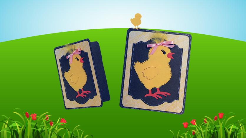 Κάρτα κοτοπουλάκι