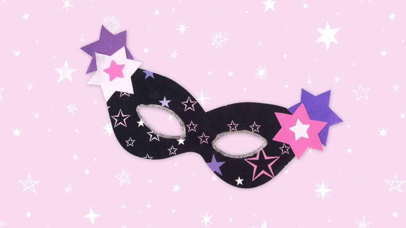Μάσκα με αστεράκια