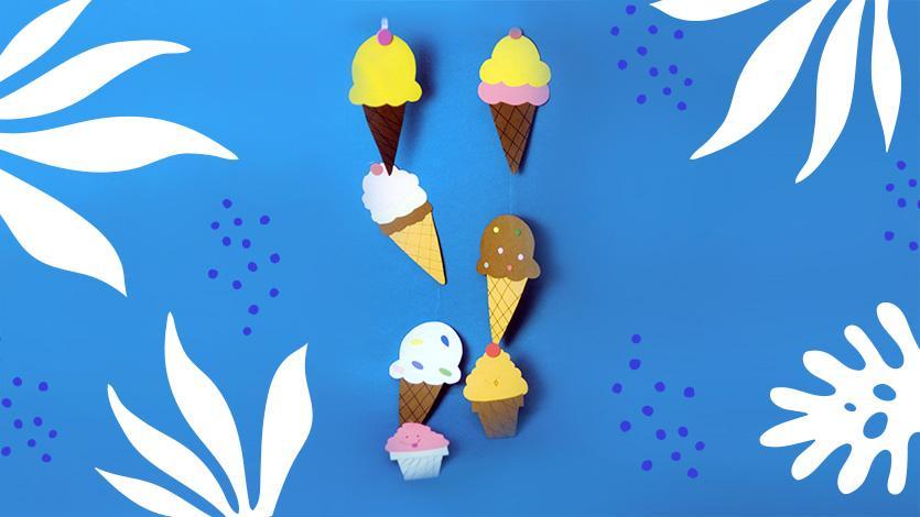 Μόμπιλε με παγωτά