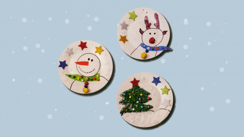 Χριστουγεννιάτικα πιατάκια