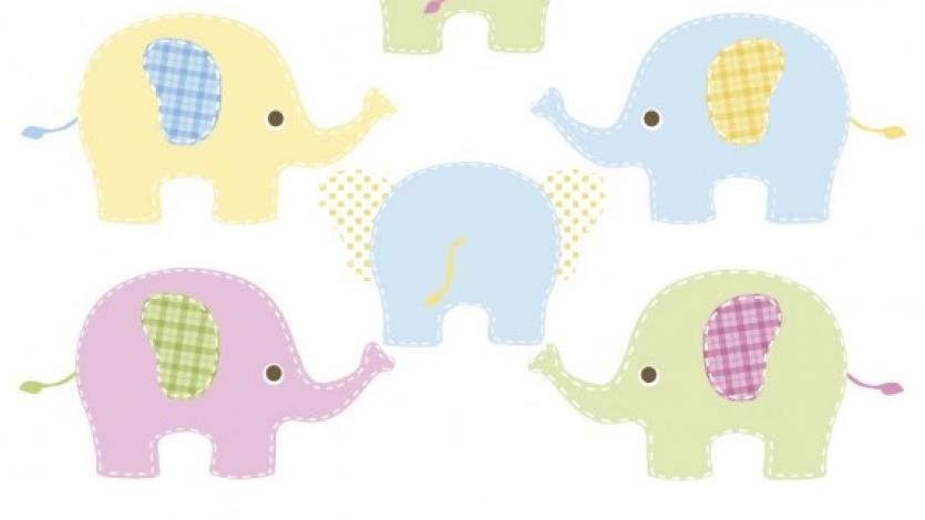 Είμαι ένα μικρούλι ελεφαντάκι