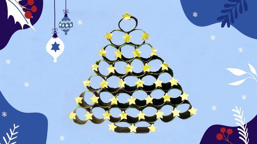 Τρισδιάστατο χριστουγεννιάτικο δέντρο