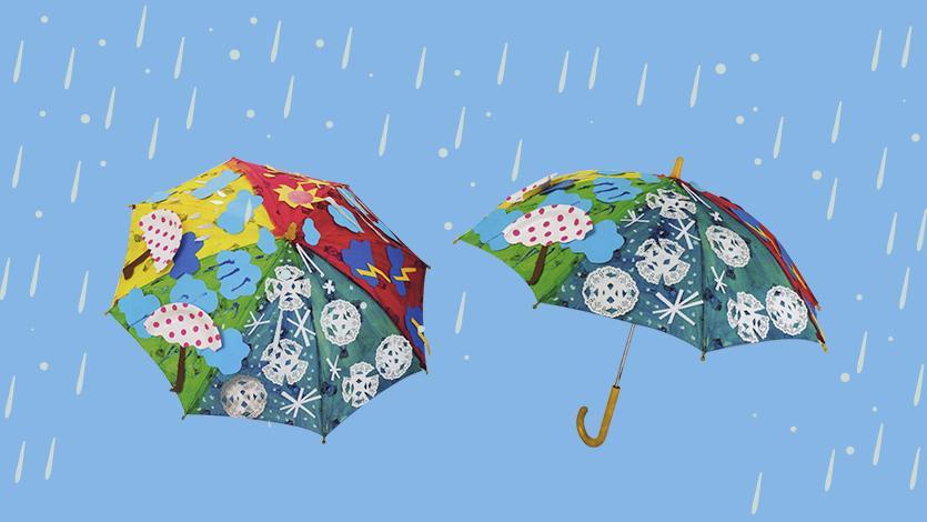 Ομπρέλα με τα καιρικά φαινόμενα