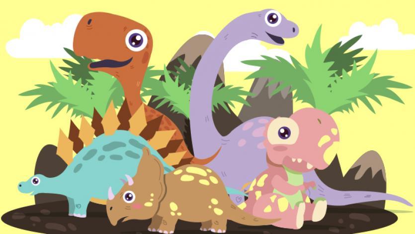 Στα ίχνη των δεινοσαύρων