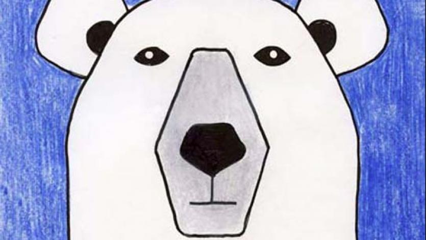 Το πολικό αρκουδάκι και το χιονοσύννεφο