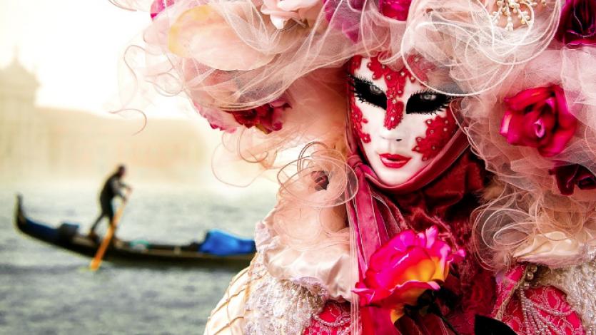Μια μάσκα από τη Βενετία