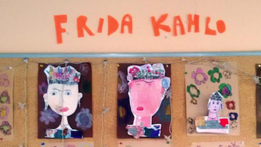 Ένα μάθημα εικαστικών με θέμα τη Frida Khalo, για την άνοιξη