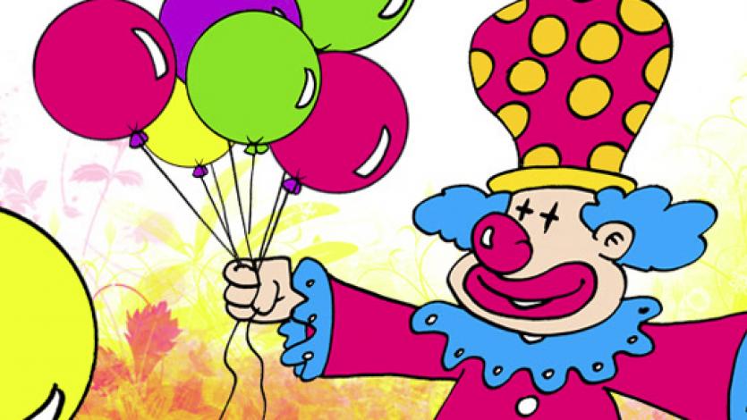 Ο κλόουν και τα Μαγικά Μπαλόνια - θεατρικό
