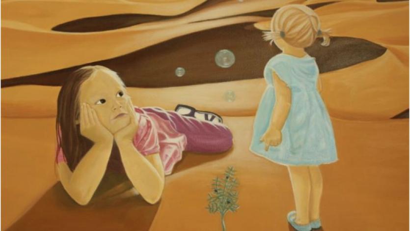 Παιχνίδι γρίφων με έργα ζωγραφικής για την ελιά