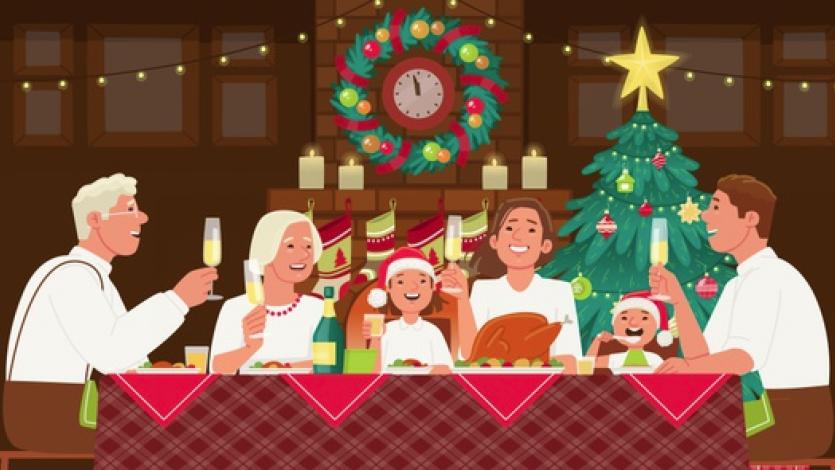 Χριστουγεννιάτικο τραπέζι... Πλάνο μαθήματος στα πλαίσια της τηλεκπαίδευσης