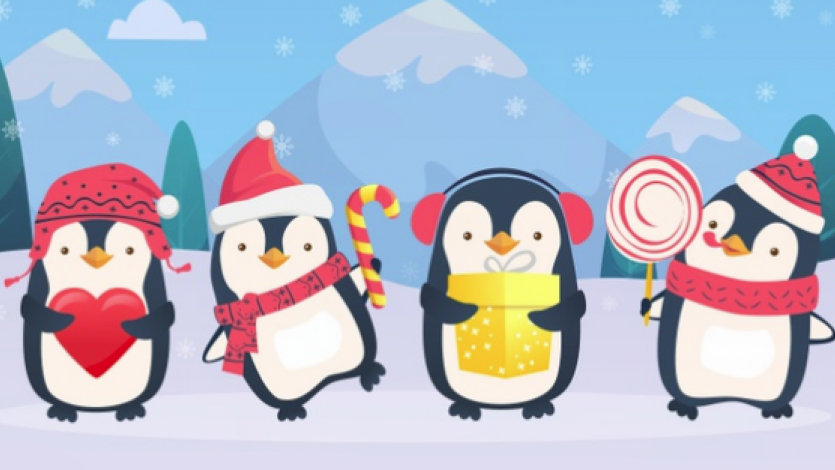 Ζωγραφίζουμε έναν πιγκουίνο;