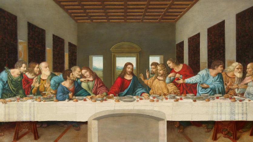 Λεονάρντο ντα Βίντσι, Μυστικός Δείπνος... Ο τελευταίος Δείπνος