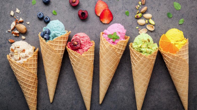 Ο κόσμος όλος ένα παγωτό