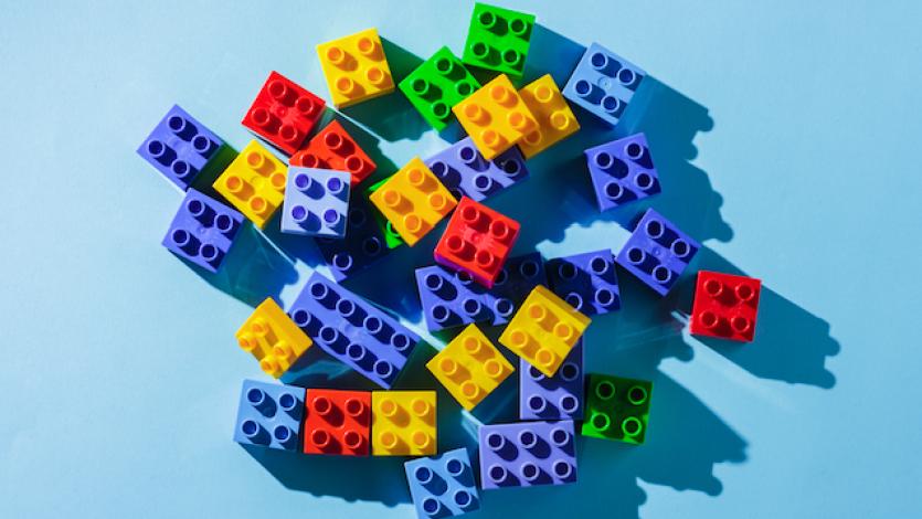 Ένας πύργος από lego