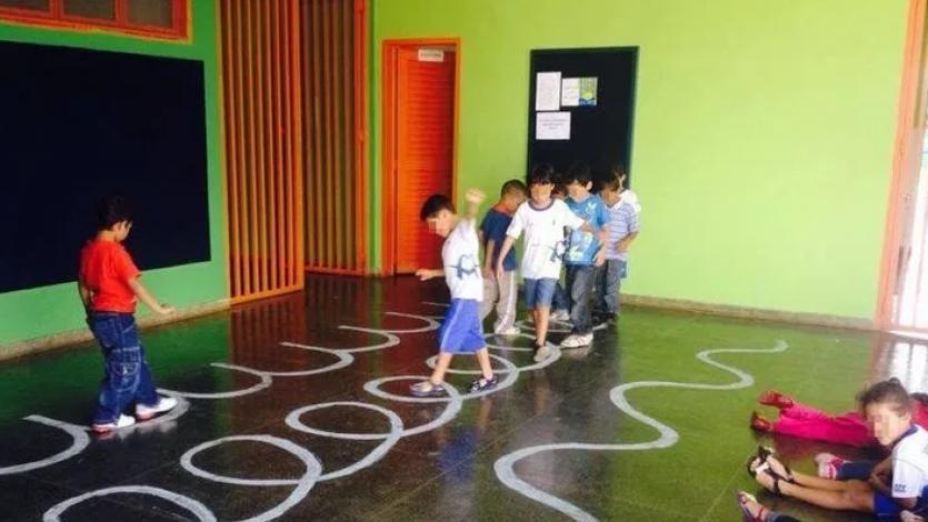 Γωνιά κίνησης για το νηπιαγωγείο & τον παιδικό σταθμό