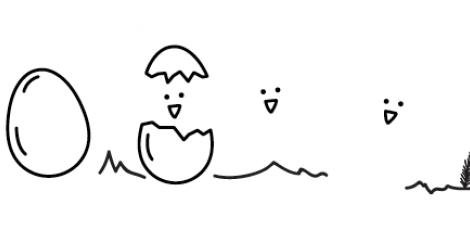 Μικρά κοτοπουλάκια